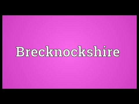 Header of Brecknockshire