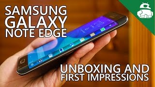 Samsung Galaxy Note Edge Unboxing & First Impressions!