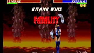 Ultimate Mortal Kombat 3 - Ultimate Mortal Kombat 3 (Sega Genesis) First combats HD - User video