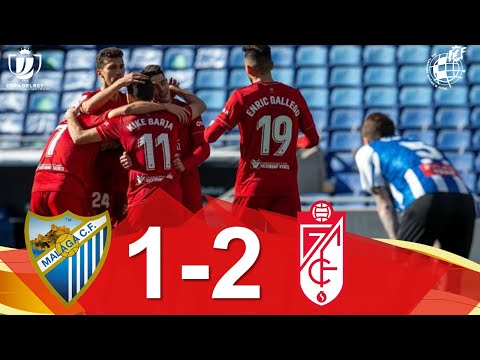 Malaga Granada Goals And Highlights