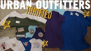 *THRIFT FLIP* URBAN OUTFITTERS CHALLENGE! BACK TO SCHOOL SHIRTS!