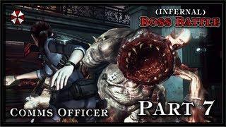 Resident Evil Revelations PC (Infernal) Gameplay - Part 7 - (Jill) Comms Officer Boss Battle