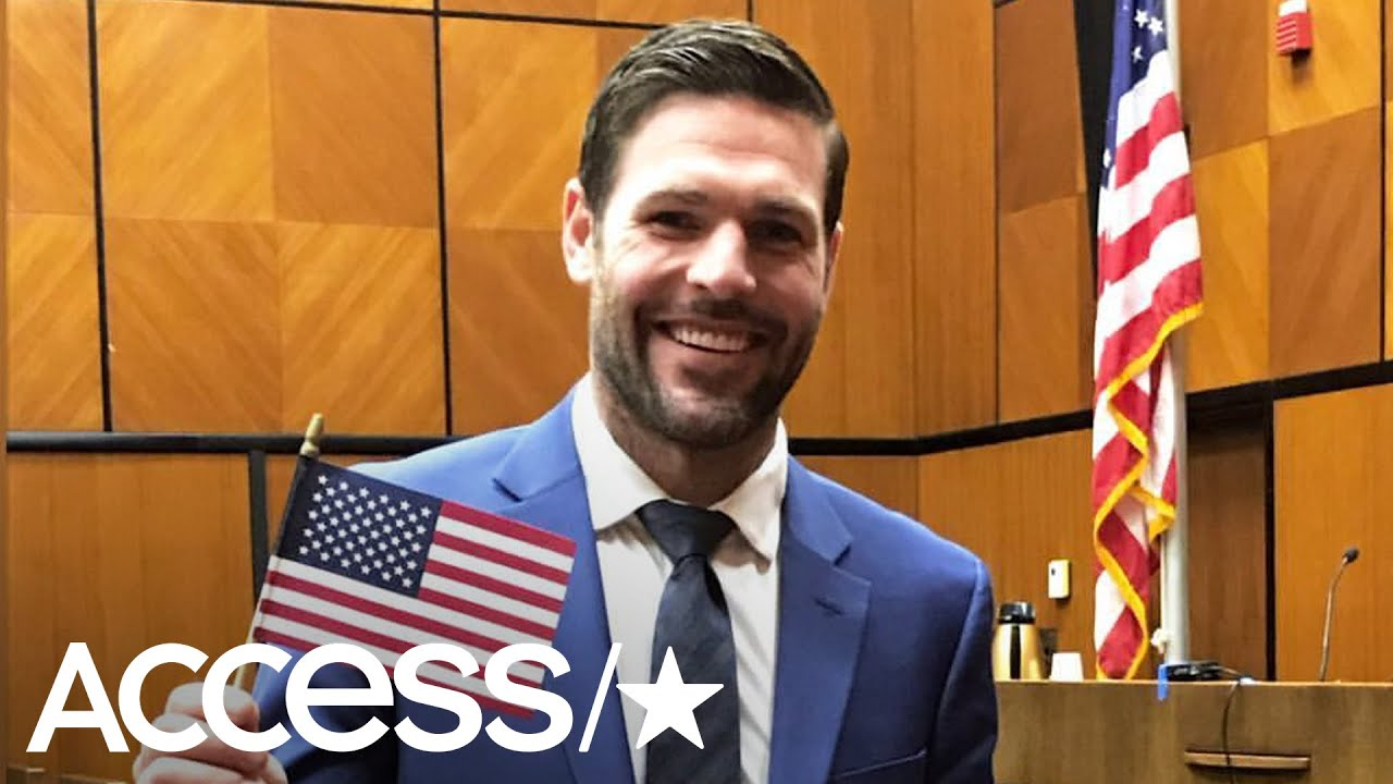 Carrie Underwood's Husband Mike Fisher Is Officially An American! | Access