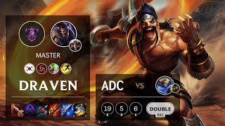 Draven ADC vs Ezreal - KR Master Patch 10.16