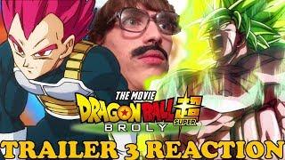 DRAGON BALL SUPER BROLY TRAILER 3 | HYPE REACTION