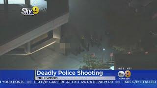 Man Brandishing BB Gun Shot, Killed By Inglewood Police