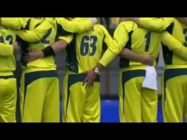 Video footage- Australian Cricketer Usman Khawaja Groping Adam Zampas Bum During National Anthem