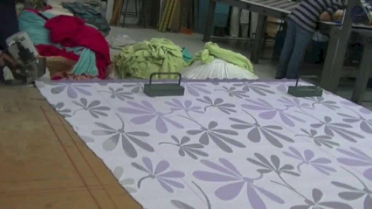 Como hacer un cubrelecho para cama doble parte 2 youtube for Para desarrollar un parque ajardinado