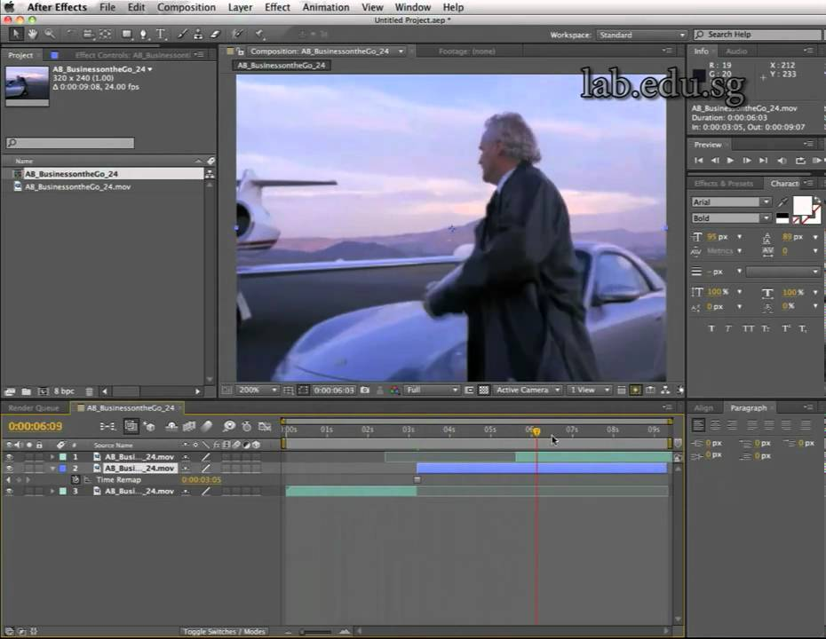 Stop and Go (freeze frame) with Adobe After Effects - YouTube