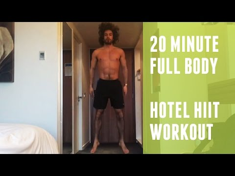 20 Minute Hotel HIIT Workout | The Body Coach