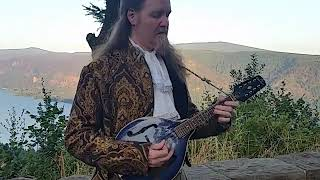 "Jeffree White performs on mandolin ""Red Haired Boy"""
