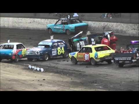 Juniors Thrills & Spills Night 2 Latrobe Speedway 16/1/16