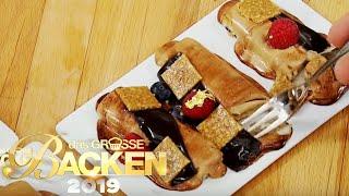 Optik? Flop! Wie schmecken die zerlaufenen Erdnuss-Törtchen? | Das große Backen 2019 | SAT.1
