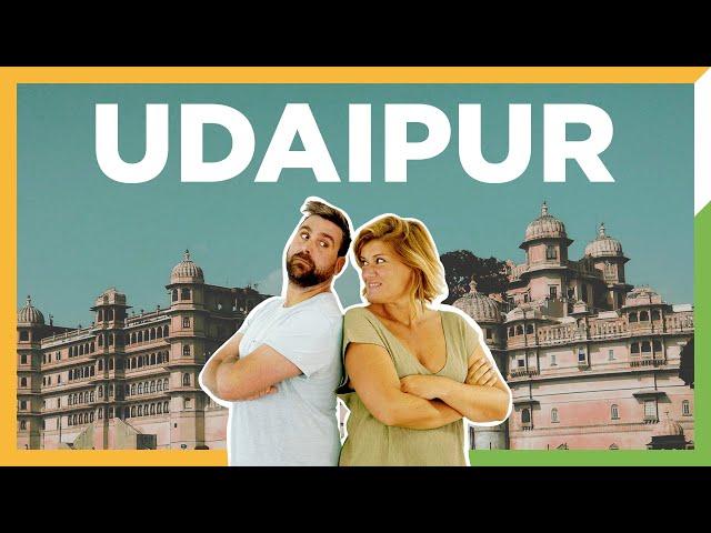 Udaipur - la ciudad de los lagos del Rajastan - India - ZXM