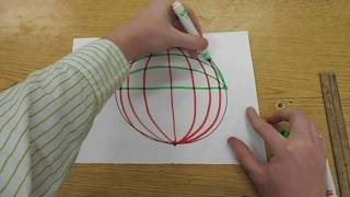 How To Draw - Op Art Sphere