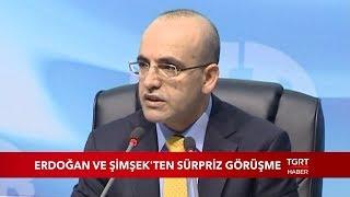 Cumhurbaşkanı Erdoğan, Mehmet Şimşek Ile Görüştü