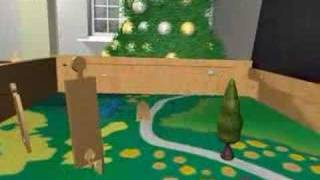 Double Decker Train Table With Wooden Train Set & Toys