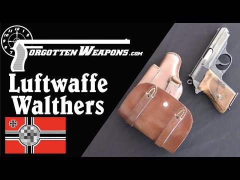 Luftwaffe-Issue Walther PP & PPK Pistols