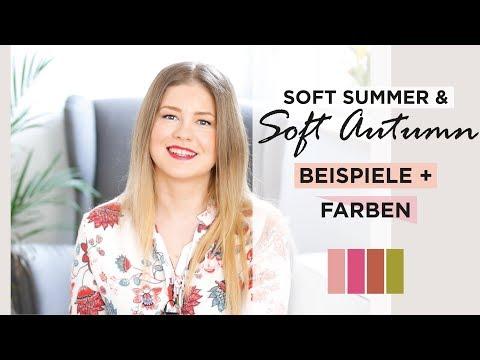 Farbtyp Soft Summer & Soft Autumn Bestimmen | Beispiele + Beste Farben