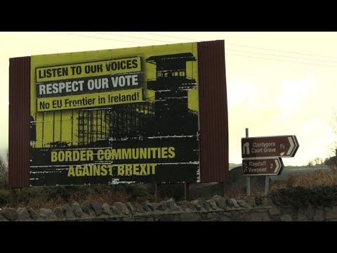 AFP news agency: Brexit: reactions on the Irish border