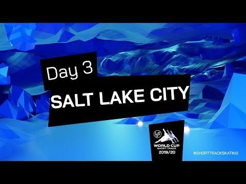 LIVE 🔴   Day 3   World Cup Salt Lake City 2019   #ShortTrackSkating