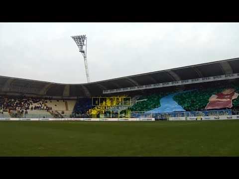Modena - Reggiana 1-0 : Ultras Modena, coreografia, sciarpata, momenti di tifo ed esultanza!