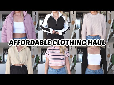 AFFORDABLE CLOTHING TRY ON HAUL | PLT, Cotton On, Kmart