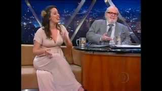Jô Soares entrevista Rhaissa Bittar