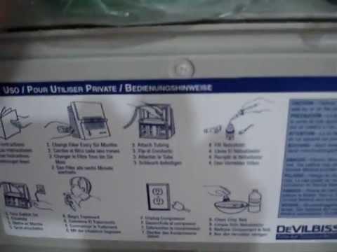 Sunrise compressor nebulizer 2655