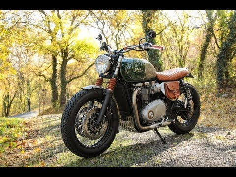 Amazing The Baak Motorcycles Custom Triumph Bonneville T120
