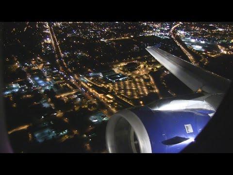 Delta A320 Night Takeoff Atlanta