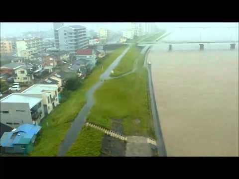 Typhoon Halong 3, Aug 9th 2014 at noon