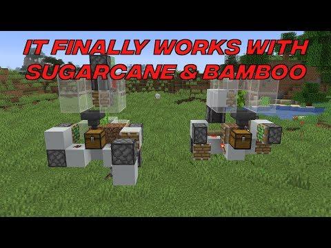 Fast Industrial Sugar Cane/Bamboo Farm 1 14+ - YouTube