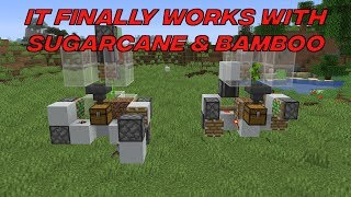 0-ticking blocks under sugar cane or bamboo also works now to force...