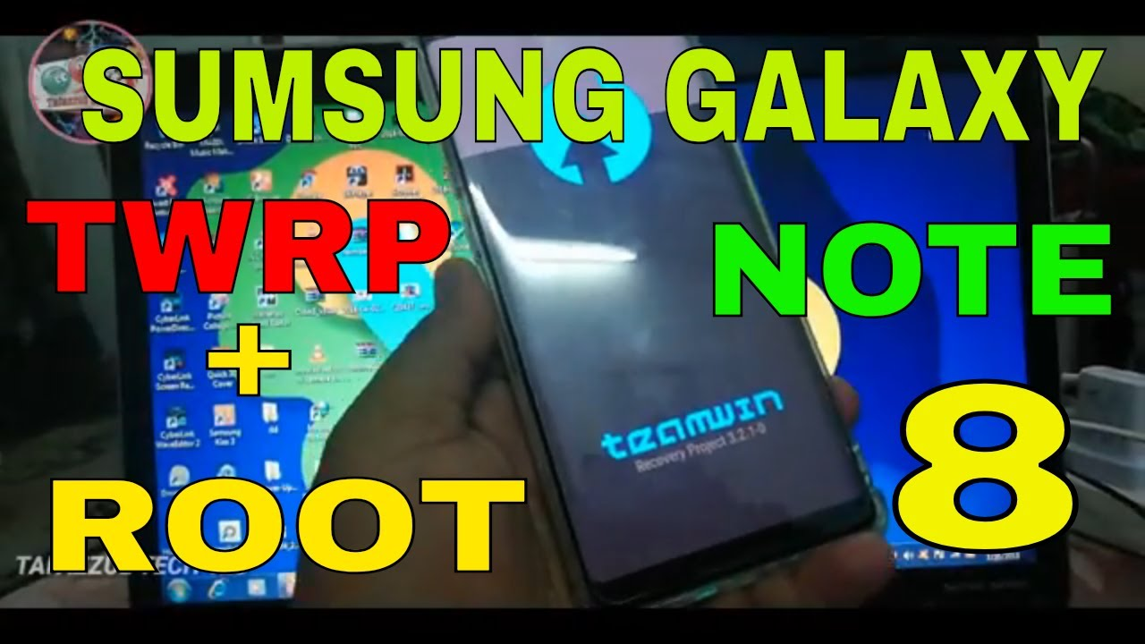 How to Root Galaxy Note 8 and Install TWRP custom recovery on note 8 magisk   hindi urdu exynos