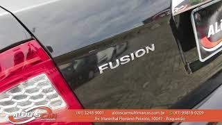FORD FUSION SEL 2.5 TOP DE LINHA É AQUI NA ALDO'S CAR MULTIMARCAS