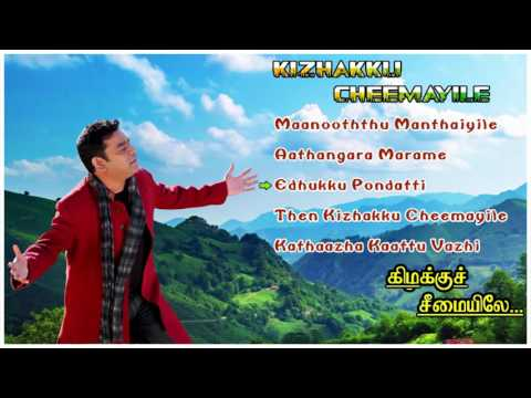 Kizhakku Cheemayile Tamil Movie Songs | Audio Jukebox | Vijayakumar | Radhika | Napoleon | AR Rahman