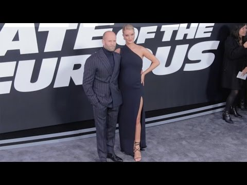 "Jason Statham and Rosie Huntington-Whiteley ""The Fate of the Furious"" New York Premiere"
