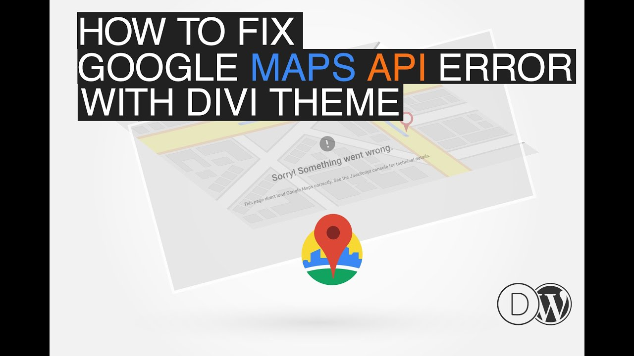 Solved How To Fix Divi Google Maps Api Error On Google Cloud Platform