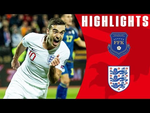 Kosovo 0-4 England | Mount & Winks First International Goals