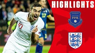 Kosovo 0-4 England | Mount & Winks First International Goals! | Euro 2020 Qualifiers | England