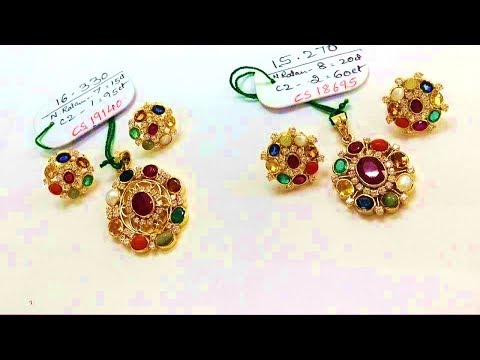Indian Light Weight Daily Wear Jewellery Designs
