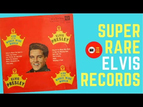 Super Rare Elvis Presley Records: King Of The Whole Wide World LP South-Africa  (1962)