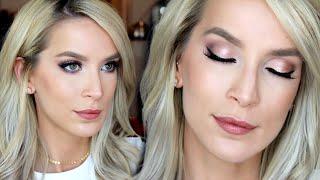 Drugstore Wedding Makeup Tutorial | Rose Gold