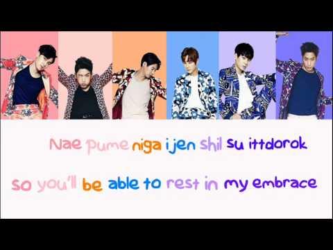 Shinhwa - Perfect Man - Lyrics (Color...