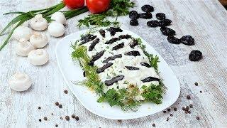 Салат «Береза»  - Рецепты от Со Вкусом