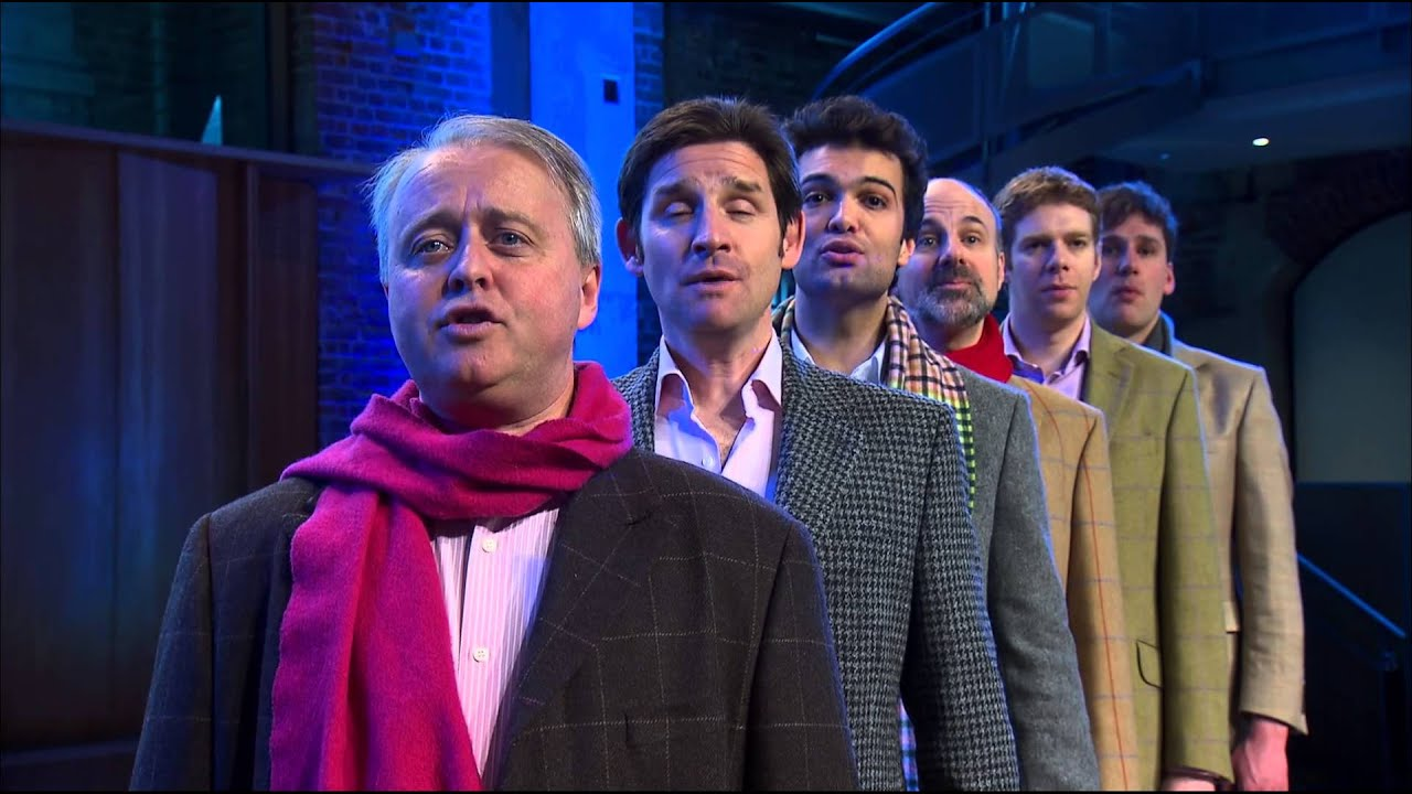 The King's Singers - The Little Drummer Boy - YouTube