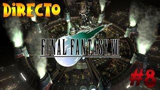 Final fantasy VII - PS1 - Directo #8 - Vuelta a junon - Viento fuerte - Rescate de Tifa