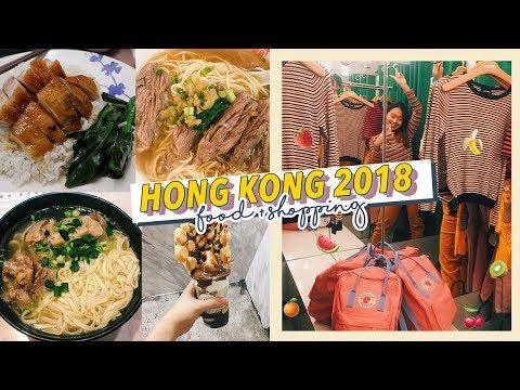 Hello, Hong Kong 🌞(PLACES TO EAT + SHOP WITH ME + HK HAUL) | Hong Kong Vlog 2018