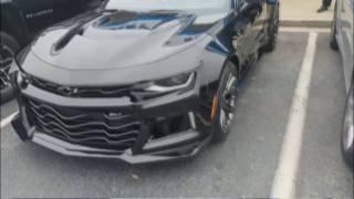 At the Dealer Picking Up My 2017 Camaro ZL1